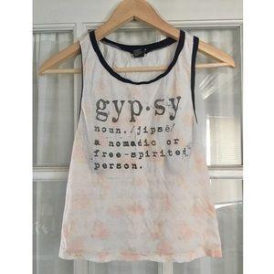 """""""Gypsy"""" crop top"""